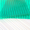 100% Virgin Grade A PC Resin 50 Micron UV Coating Polycarbonate Hollow Sheets Cheap Price Roofing Panels Clear