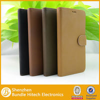 Luxury pu leather stand wallet flip case cover for samsung galaxy note 3 phone