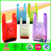 customized sizes disposable promotional recycle plastic bag t-shirt bag