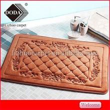 Soft best high quality assuerance excellent comportabl memory foam bath mat