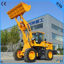 CE certificate cheap compact wheel loader 936 with Joystick & A/C