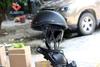 Shorty Helmet Matte Black Flat Adult Motorcycle Half Helmet ZJMOTO