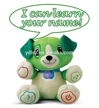 Interactive intelligence electronic singing dog musical plush toy
