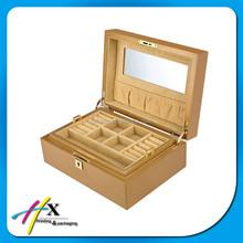 Jewelry Gift Box Wholesale Wooden Storage Box for Women Neckalace