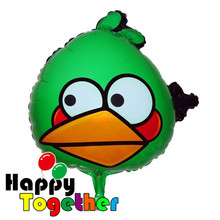 HAPPY TOGETHER Factory Wholesale Best Selling Lovely Sealing Green Bird Shaped Balloons