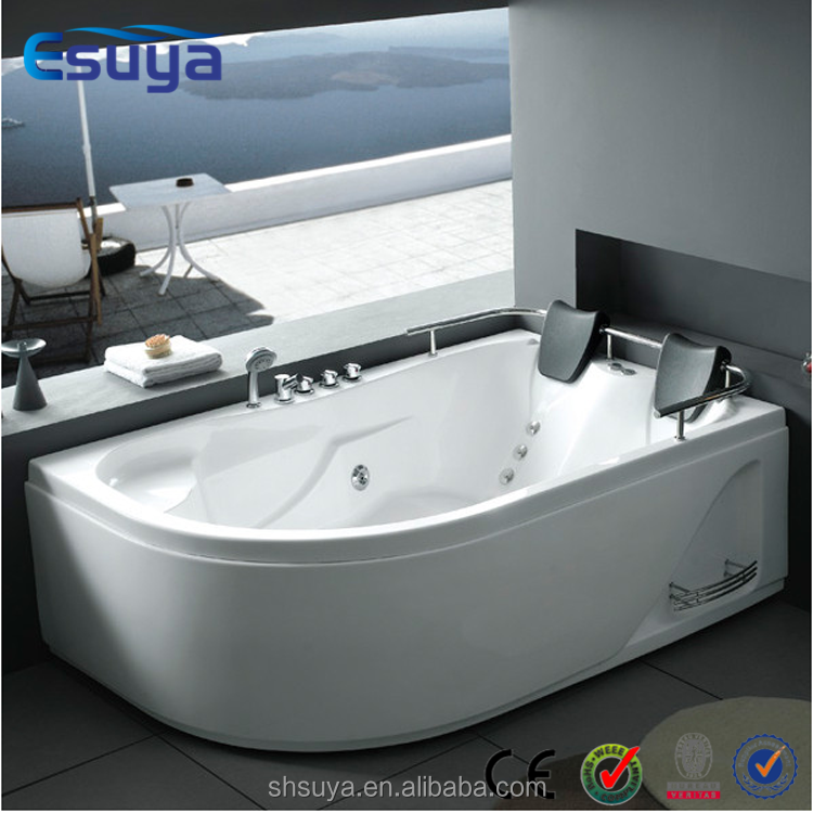 2015 european style indoor 2 person acrylic massage for European bathtub