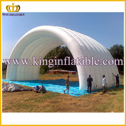 White Large Outdoor Used Inflatable Car Garage Cover Tent