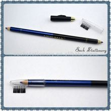 """7""""permanent double side color brush top eyebrow pencil"""