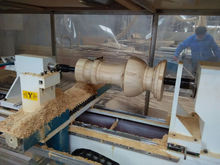 diametro di 300mm jinan fabbrica del legno cyilndrical torni cnc per legno