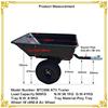 Top quality Plastic decorative garden wagon