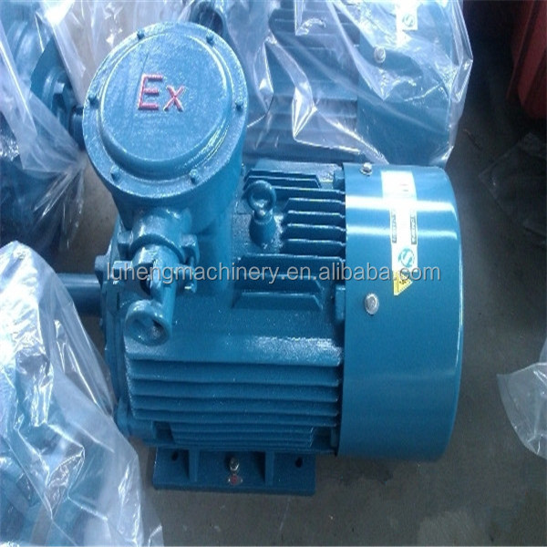 AC Three Phase Induction Explosion Proof Fan Motor 0.75kW 910r/min