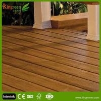 Outdoor veneer decking for laminate flooring, plastic teak decking for home decor