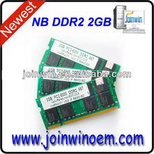 ETT original chips FCC CE pc800 ddr2 2gb ram used lower