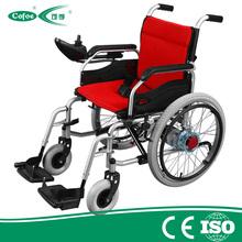 Medical equipment Cofoe high quality Aluminum power Folding Portable electric Wheelchair