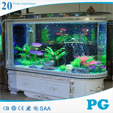 PG Acrylic Tank Fake Fish Aquarium with Filter