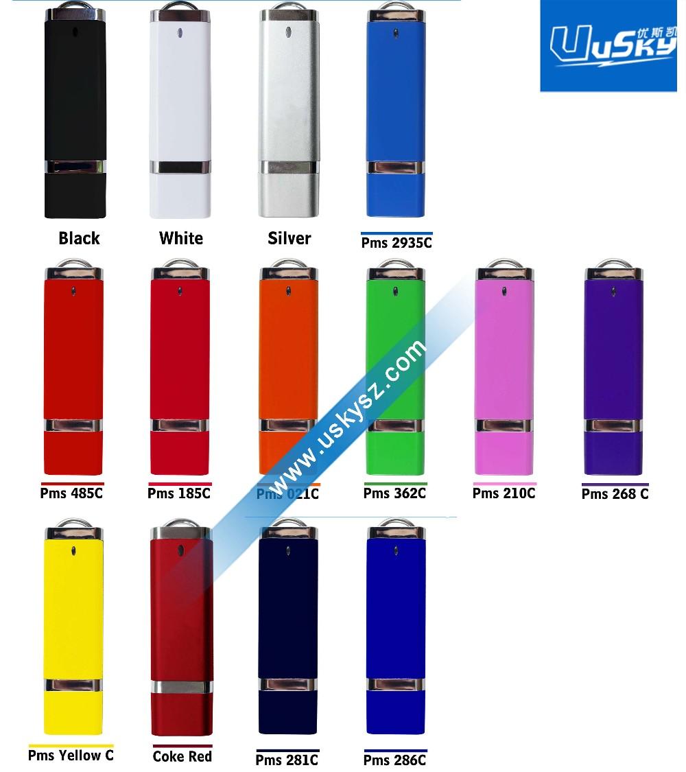 USB 2.0 Schnittstellentyp USB Stick Gelb Gehäuse für 128 MB-64G Kapazität USB