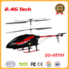 LED light helicopter 2.4G full functions toys helicopter with battery protection holiday gifts
