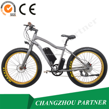 China cheaper price 26inch city style electric bicycle with 36V10ah lithium battery ,al alloy frame exported to overseas marke