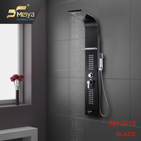 wall mounted multifunctional SPA shower panel in shower room