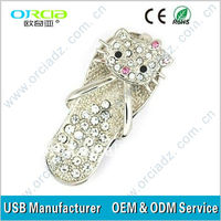 jewelry diamond usb flash drive lovely mini original chip diamond usb flash drive Luxury usb flash drive