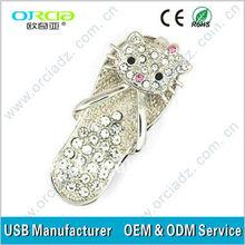 jewelry diamond usb flash drive lovely mini original chip diamond usb flash drive Luxury usb flash drive