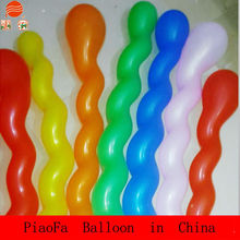 Wedding/Birthday Party Decoration Screw Shaped Latex Balloons