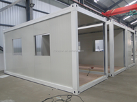 20 feet new container house/ Cheap Container hotel room modular house/ prefab house