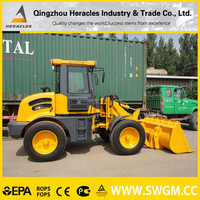 HR918F best seller garden/farm tractor with front bucket in shandong