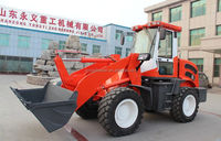 Road construction loader