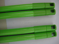 New products 2015 PVC cover wooden broom sticks wood utility poles