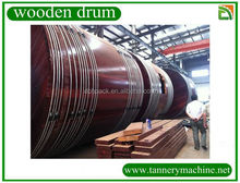 small size soaking and liming wooden drum for sale