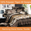 latest design luxury bed sheets 3d,3d china bedsheets