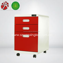 2015 new model office furniture/small file cabinet with 3 drawer/metal round file cabinet