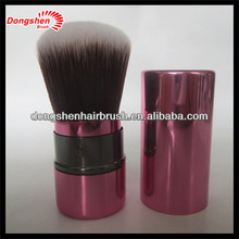 walmart,branded makeup,retractable brush,logo with pink bell,aluminium tubes cosmetic
