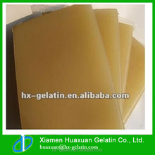 Glue made by safe animal bone or leather glue