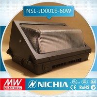 free sample led wall pack canopy light manufacturer, 100w nichia led wall pack retrofit kits street ligh ul meanwell driver