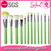 Sofeel fashion face cosmetic 12pcs pro makeup brushes tool