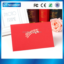 High Quality funny greeting card writing with music chip