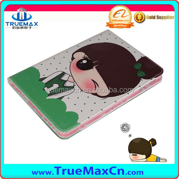 New 360 Degree Rotating PU Leather Case Cover With Stand For iPad Mini retina case