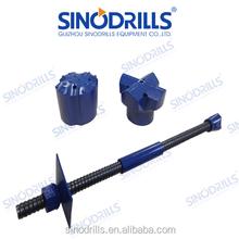 SINODRILLS R25N-14 SDA self drilling slope stabilization hollow soil nailing