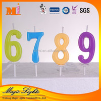Professional Produce High Quality Birthday Number Candle