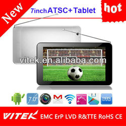 "Hot 7"" Android Camera tablet pc digital tv gps"
