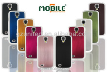 for samsung galaxy S4 i9500 impact resistance metallic hard case cover cell phone accessory