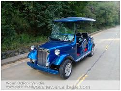 4 seats retro electric classic model car