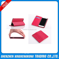 for i phone 6 leather case, PU Leather Pouch Wallet Case Magnetic Flip Cover Case for i Phone 6