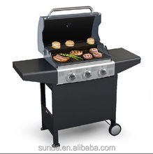CE Approved 3 Burners the Best Weber Gas BBQ Grill