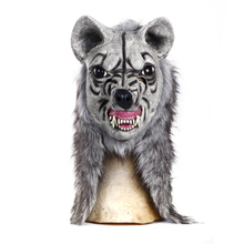 Latex Realistic Wolf Mask for Carnival and Halloween party