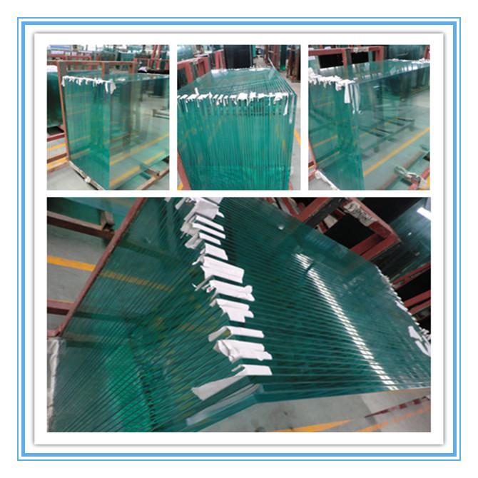 4mm toughened ulra clear glass 2