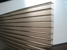 Pc Hollow Sheet For Sign Boards / transparent patio cover /laminate sheet plastic price