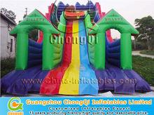 colorful large offer inflatable slides